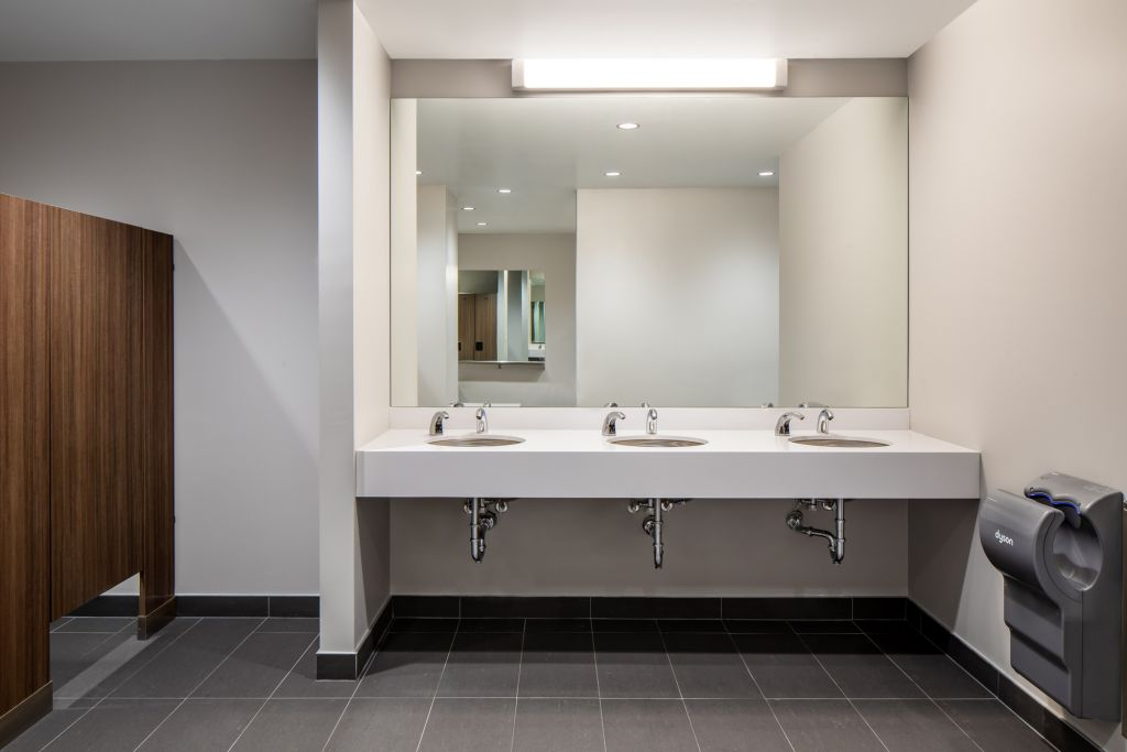 Washroom Partitions & Accessories.